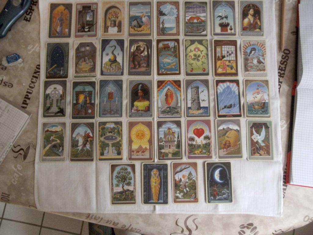 Lenormand Mystic Karten großes Blatt